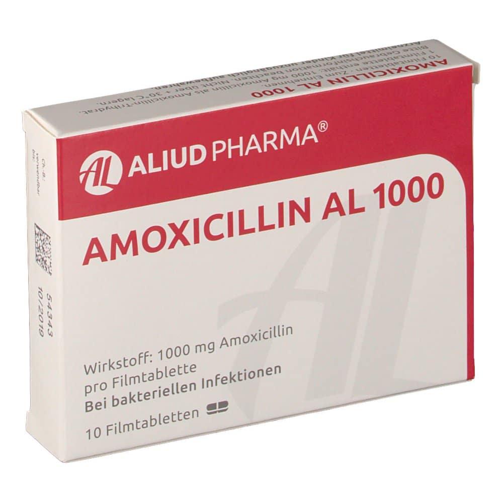 amoxicillin clavulansäure prostatitis)