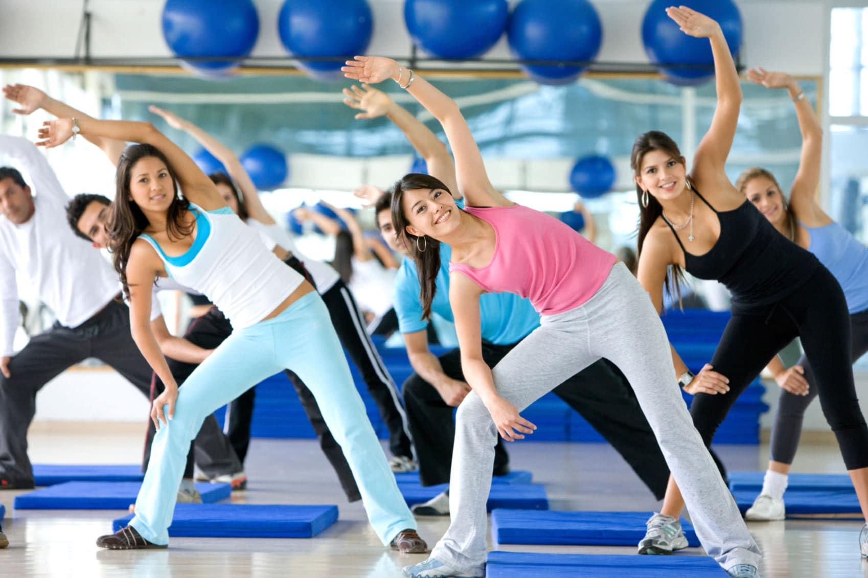 Aerobic-Übungen zum Abnehmen