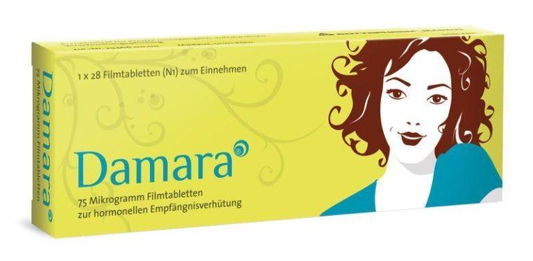 Damara Pille ohne Rezept bestellen Rezeptfrei - Preis: 25,19