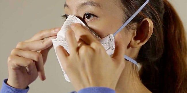coronavirus maske